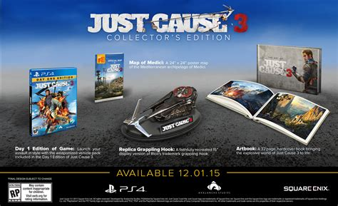 just cause 3 bobblehead nov 233 hry just cause 3 collectors edition ps4 madgamer sk