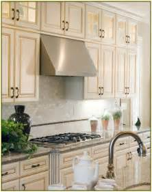 Mirror Backsplash Kitchen hexagon marble tile backsplash home design ideas