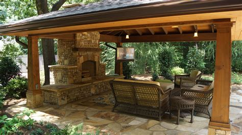 outdoor living patio ideas outdoor living spaces with water feature and greens