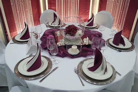 dekoration hochzeit mieten raumdekoartion hochzeitsdekoration aubergine mieten