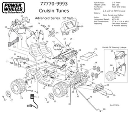 Cruisin Tunes Jeep Battery Take Along Tunes Cruisin Tunes Jeep 77770