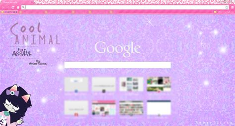 cool themes for google chrome cool animal theme for google chrome by waatt on deviantart