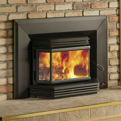Fireplace With Wood Burner by Osburn 2200 High Efficiency Epa Bay Window Woodburning