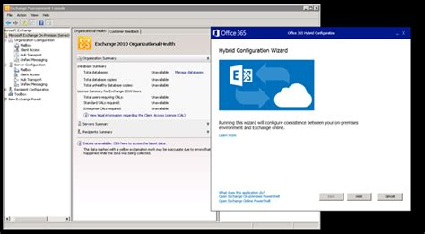 Office 365 Hybrid Configuration Wizard Office 365 Hybrid Configuration Wizard For Exchange 2010