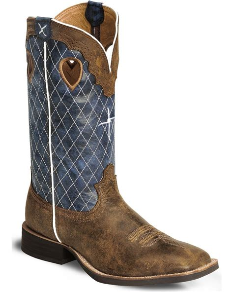 twisted x boots s twisted x s ruff stock 12 quot western boots boot barn