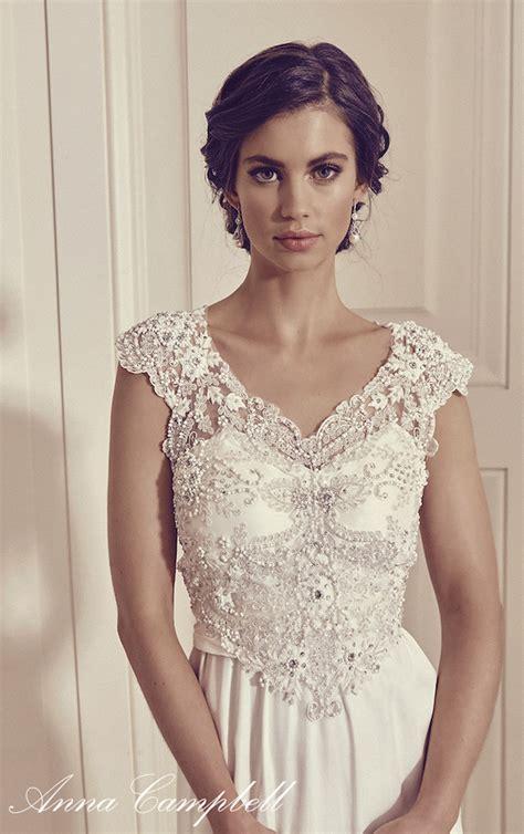 annas bridal anna cbell gossamer 2016 bridal collection belle the