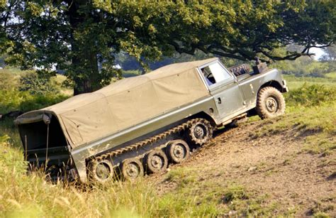 Tank Track Land Rovers