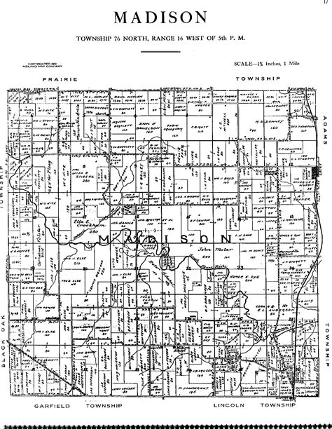 plat maps 1913 plat maps mahaska county of iowa