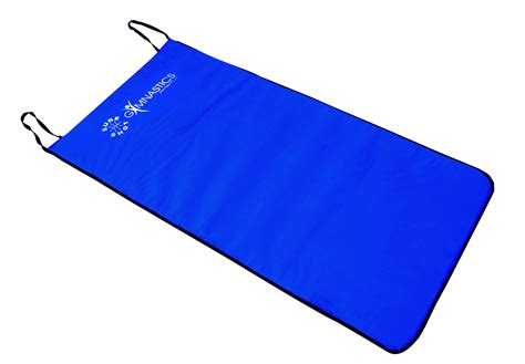Mat 10mm Blue aerobic non slip mat 10mm blue ok sports and