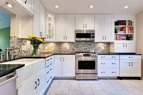 white slab kitchen cabinets kitchen