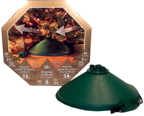 rotating christmas tree stand decorations props