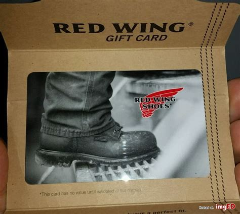 Red Wing Gift Card - red wing boots gift card boot hto