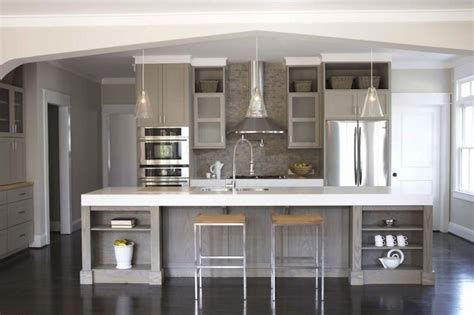 gray kitchen cabinets contemporary kitchen sherwin