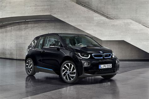 bmw black bmw i3 gets new fluid black color