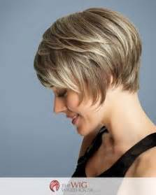 layering short hair for height the deluxe wig by gabor transforms the classic short bob