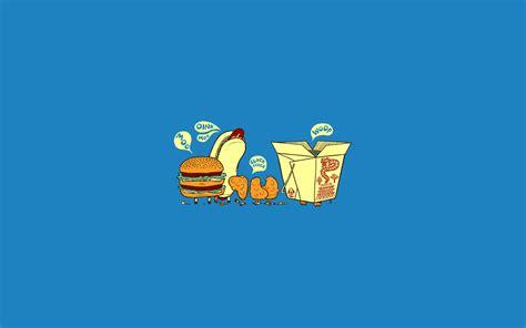 wallpaper cute food funny fast food wallpaper