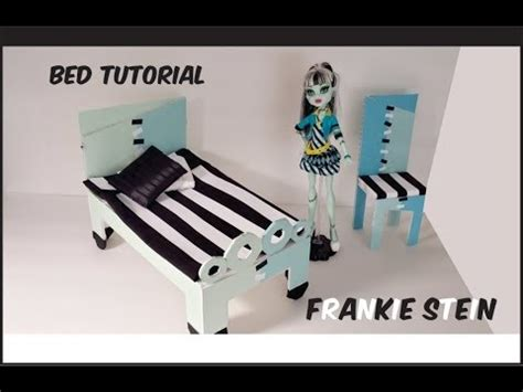 how to make bed higher how to make a frankie stein doll bed tutorial monster
