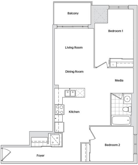 watermark floor plan watermark floor plan watermark condos own watermark