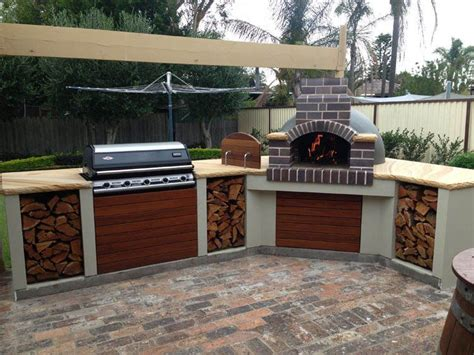 outdoor kitchen ideas australia outdoor pizza oven australia for the home