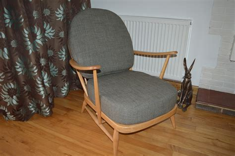 Ercol 203 Chair by Ercol 203 Chair In Grey The Partnership