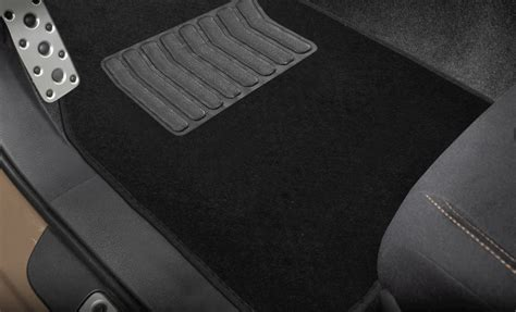 Car Floor Mats And Seat Covers by Pu Leather Car Seat Covers For Auto Black White 5