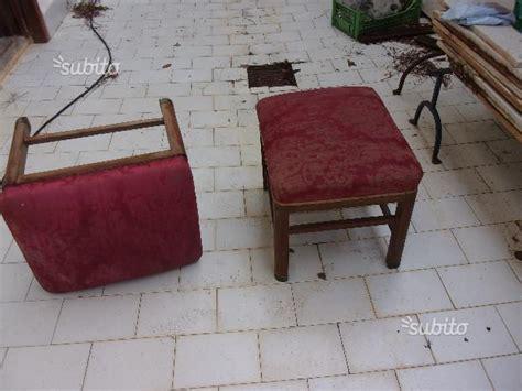 sgabelli richiudibili coppia pouf sgabelli antichi legno damasco posot class