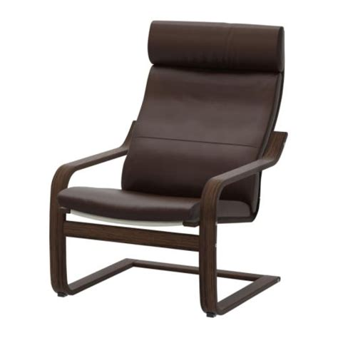poang armchair po 196 ng armchair glose dark brown ikea