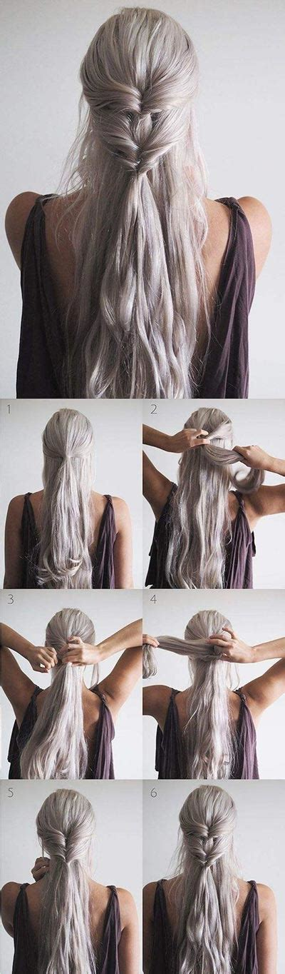 half up half down hairstyles with ribbon 30 most flattering half up hairstyle tutorials to rock any