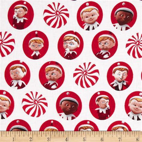 fabric elf pattern elf on the shelf discount designer fabric fabric com