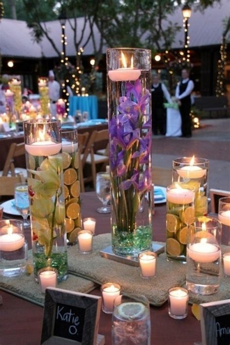 wedding table decorations using candles breathtaking wedding centerpieces crazyforus