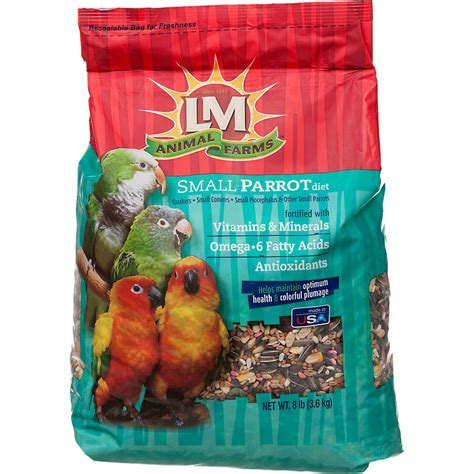 lm animal farms small parrot diet bird food petco