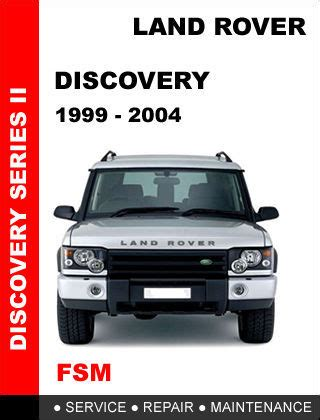 free download parts manuals 2002 land rover discovery electronic throttle control land rover discovery 2 1999 2004 factory service repair workshop pdf manual other books