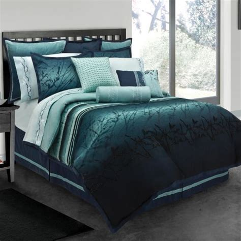 moon bed sheets blue moon king size 10 piece bed in a bag with sheet set