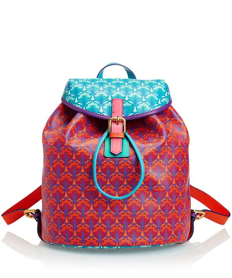 Patchwork Backpack - liberty multicolour iphis patchwork kingly backpack lyst