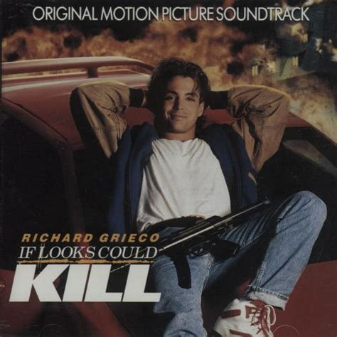 Kaset Ost From Motion Picture If Looks Could Kill original soundtrack if looks could kill canadian cd album mcasd 10240 if looks could kill