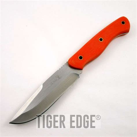 high quality throwing knives elk ridge 10 quot high quality orange g10 tang fixed