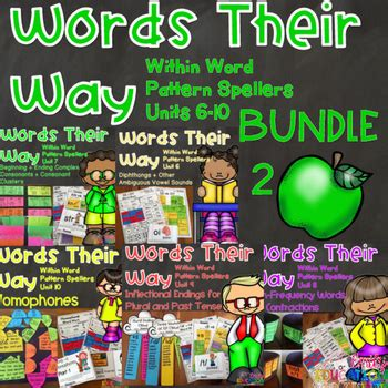 Words Their Way Within Word Pattern Spellers Units 6 10