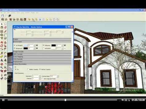 tutorial vray for sketchup bahasa indonesia tutorial rendering vray sketchup 08 exlight hdri part