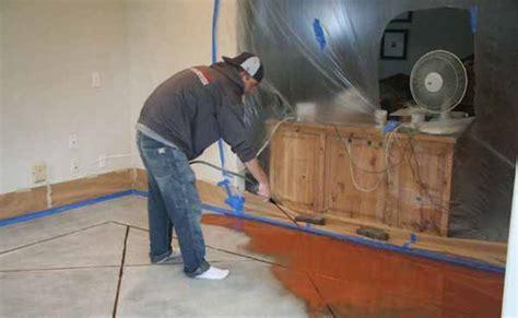 application  lastiseal concrete stain  sealer