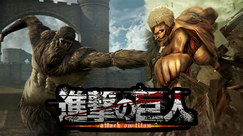 Who Is The Beast Titan Attack On Titan Ps4 Gameplay Overview Armored Titan