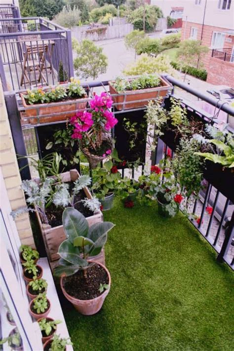 33 Apartment Balcony Garden Ideas That You Will Love Small Apartment Balcony Garden Ideas