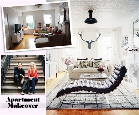 before after a small space bedroom makeover lonny apartment makeover how to maximize your small space lonny