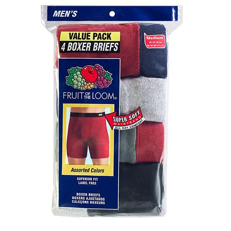 Fruit Of The Loom Men S Covered Waistband Boxer Brief