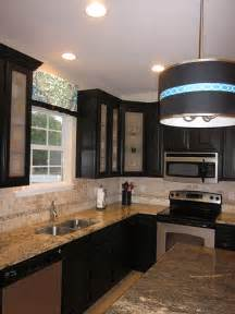 Frosted Glass For Kitchen Cabinets by Black Kitchen Cabinets Frosted Glass Cabinet Doors