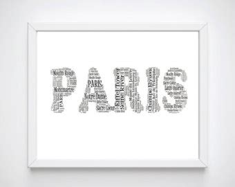french word for home decor paris oh la la french word art printable wall art digital