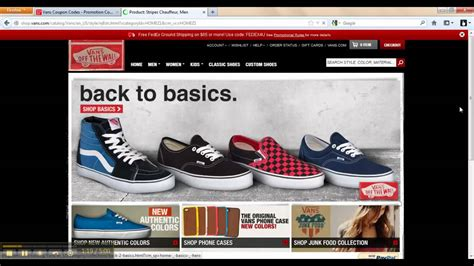 how much ya bench coupon code vans promo codes how to use a coupon code with vans