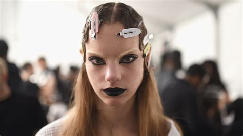 Makeup Marc makeup artists used 4 products to create the black at marc stylecaster