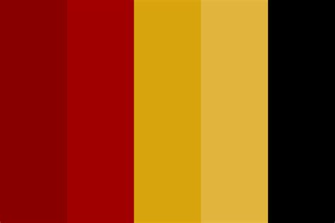 gryffindor colors gryffindor pallette color palette