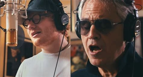 ed sheeran perfect with andrea bocelli lyrics new favorite song nosy parker blog