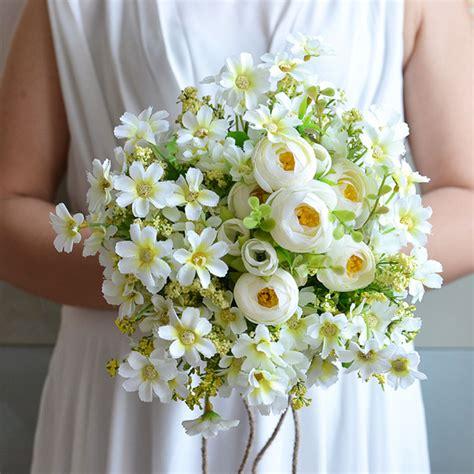 Handmade Flowers For Wedding - keythemelife country style wedding bouquet all handmade